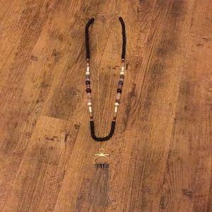Stella & Dot Genevieve Tassel necklace